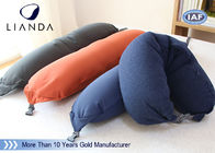 Soft Plush Microbeads Memory Foam Pillows With 100% Polyester Fleece Material , CE SGS