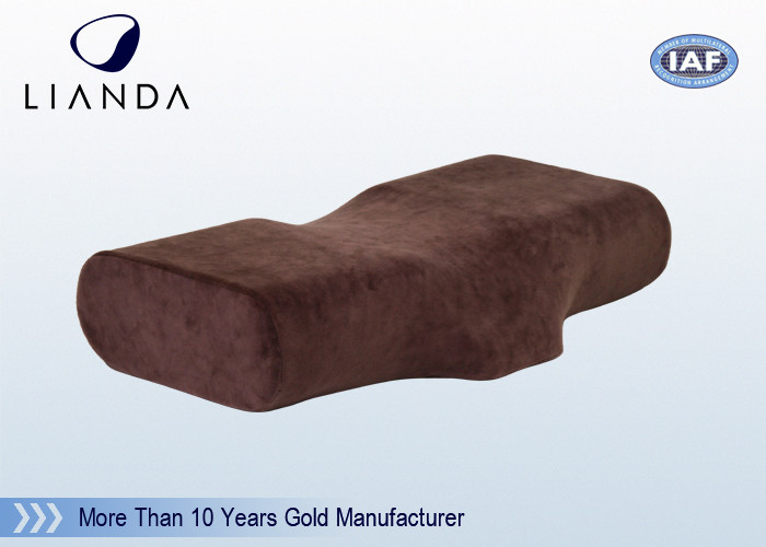 High Density Cervical Memory Foam Pillow Standard Size ROHS / TUV OEM
