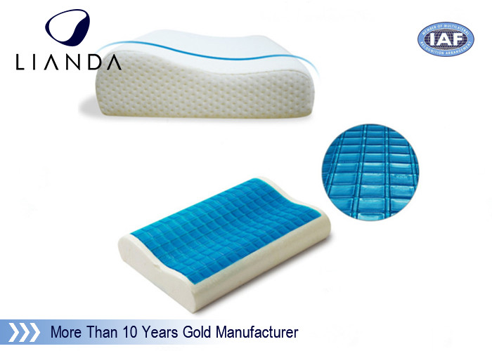 Air conditioning memory foam cooling gel bed pillow eco - friendly